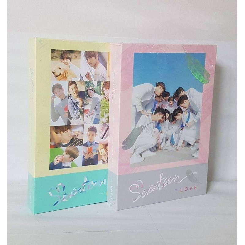 K-POP SEVENTEEN 1ST ALBUM FIRST LOVE & LETTER 2VER [SET